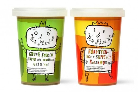 Yes Soup Packaging